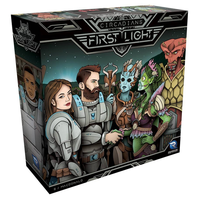 Circadians: First Light - Board Game