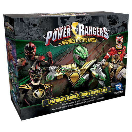 Power Rangers: Heroes of the Grid: Legendary Ranger Tommy Oliver Board Game