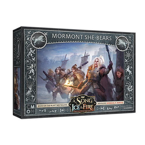 A Song of Ice and Fire: Mormont She-Bears Miniatures (Pre-order) May 2021