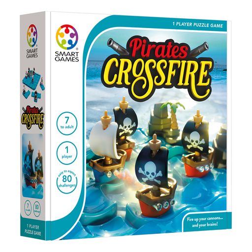 Pirates Crossfire Puzzle Game (Pre-order) May 2021