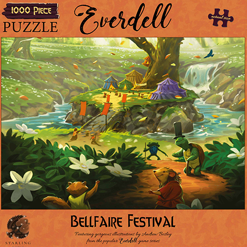 Everdell: Bellfaire Festival 1000pcs Puzzle (Pre-order) Apr 2021
