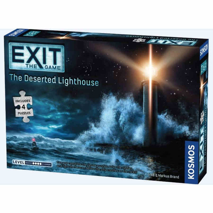 Exit: The Deserted Lighthouse (With Puzzle) Board Game (Pre-order) April 2021