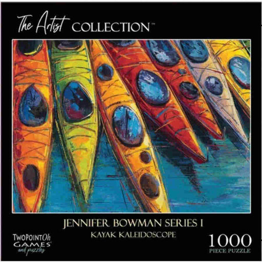 The Artist Collection: Kayak Kaleidoscope 1000-Piece Puzzle (Pre-order) April 2021