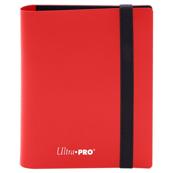 Ultra Pro: Eclipse: Apple Red 2-Pocket Card Binder