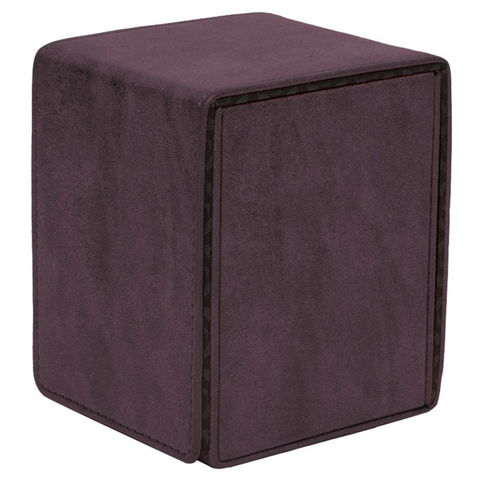 Deck Box: Alcove Flip: Suede Collection: Amethyst