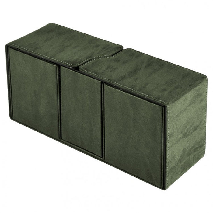 Deck Box: Alcove Vault: Suede Collection: Emerald
