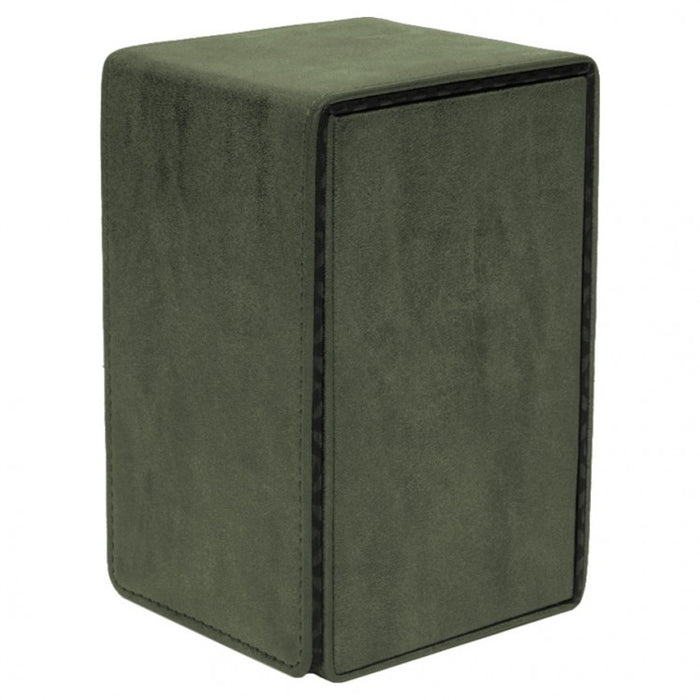 Deck Box: Alcove Tower: Suede Collection: Emerald