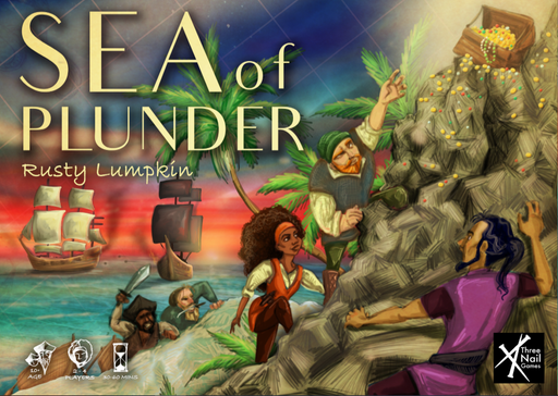 Sea of Plunder Board Game (Pre-order) Q3 2021
