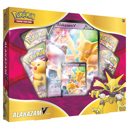 Pokemon TCG: Alakazam V Box (Pre-order) Jan 2021