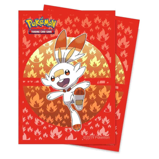 Ultra Pro: Pokemon Deck Protector - Sword & Shield: Galar Starters - Scorbunny