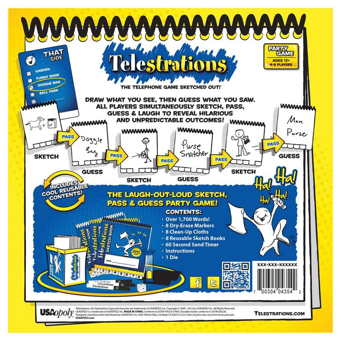 Telestrations! Board Game