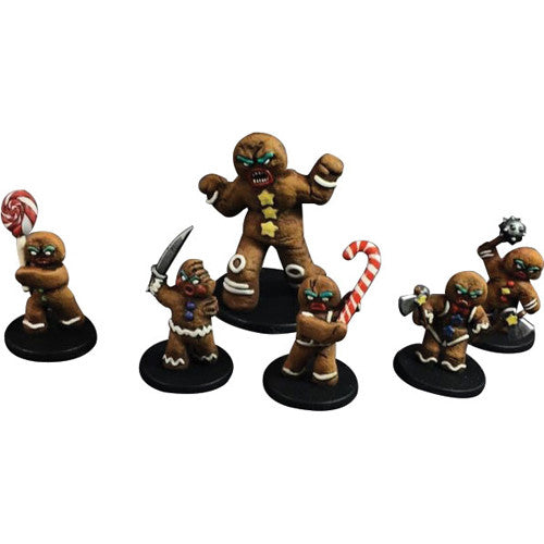 War In Christmas Village: The Gingerbread Gang Miniatures (Pre-order) Jan 2021