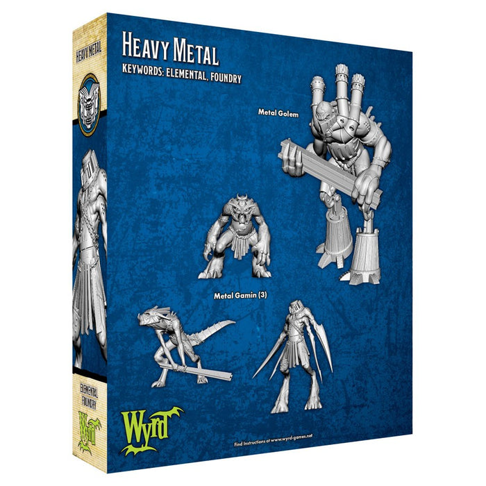 Malifaux 3rd Edition: Arcanist: Heavy Metal Miniature Set (Pre-order) Jan 2021