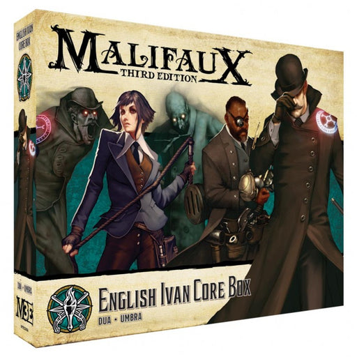 Malifaux 3rd Edition: Explorer's Society: Ivan Core Box (Pre-order) Mar 2021