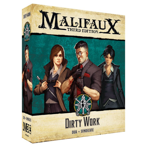 Malifaux 3rd Edition: Explorer's Society: Dirty Work (Pre-order) Mar 2021