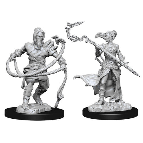 Magic the Gathering: Stoneforge Mystic & Kor Hookmaster W13 Unpainted Miniatures