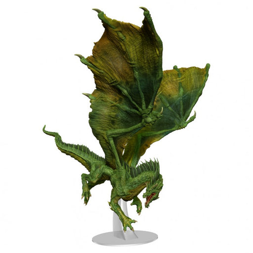Dungeons and Dragons: Icons of the Realms: Adult Green Dragon Premium Figure (Pre-order) Jul 2021