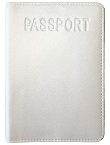 RFID Blocking Leather Passport Cover