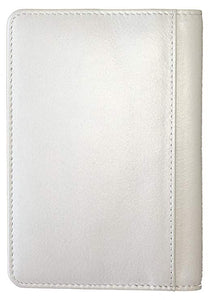 RFID Blocking Leather Passport Cover 2 Sides