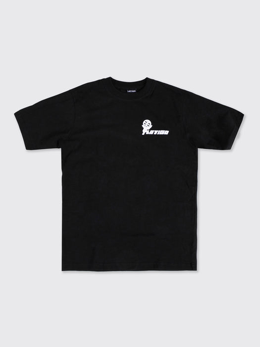 """Atlas"" Black Tee"