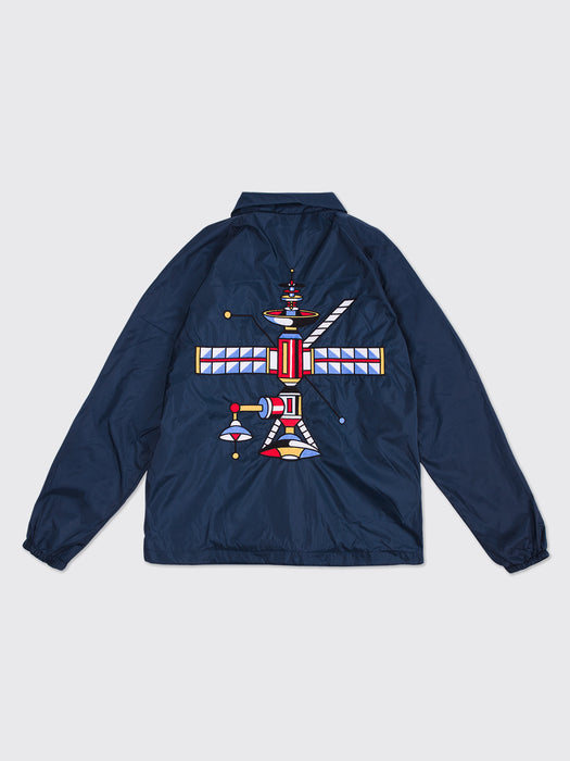 """Jesús Cuesta x LATIGO"" Embroidered Coach Jacket"