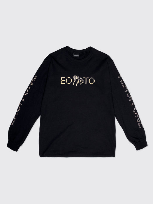 """Each One Teach One"" Black Long sleeve"