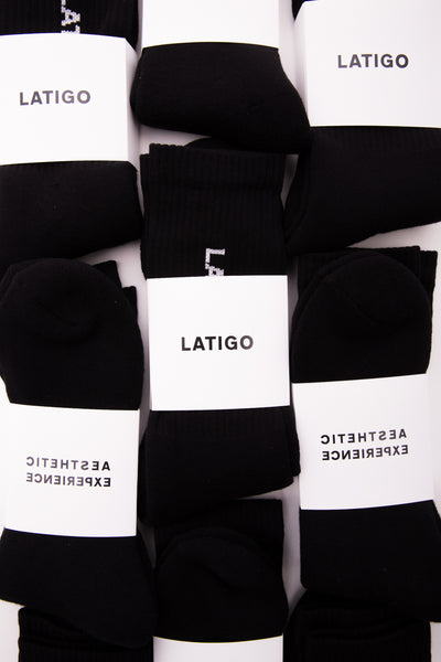 """Essential"" Black Socks"