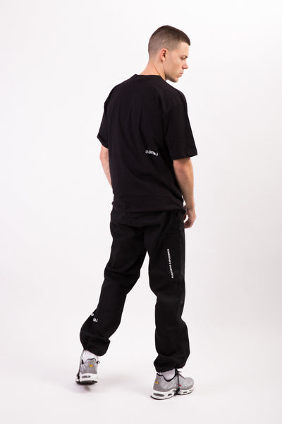 """Essential"" Black Tee"