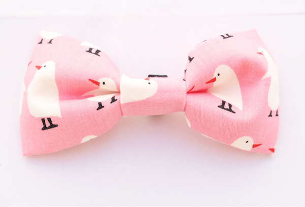Penny The Penguin Dog Bow Tie