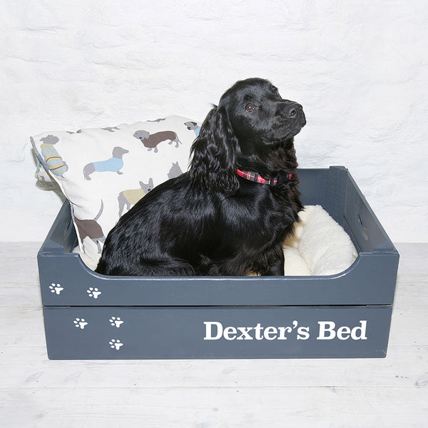 Personalised Dog Bed Crate Large