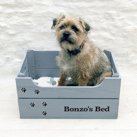 Personalised Dog Bed Crate Small