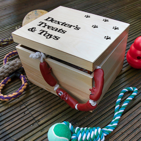 Personalised Dog Toy Box
