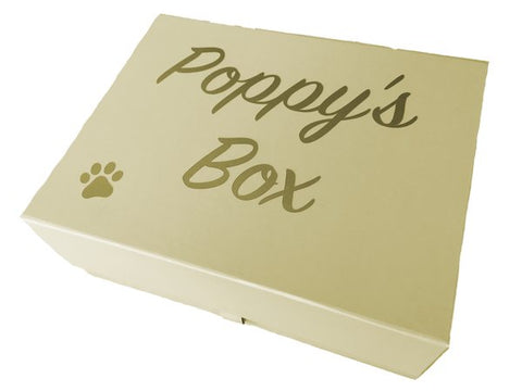 Personalised Keepsake Box for Dogs