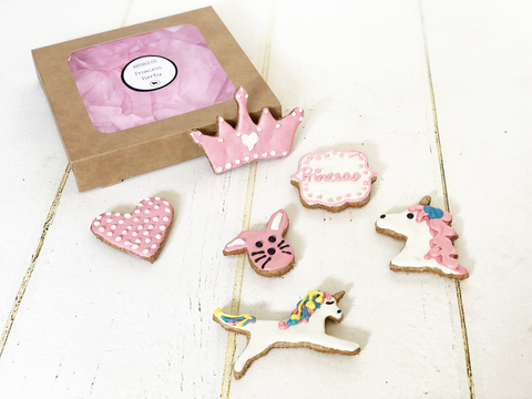 Princess Party Dog Iced Treats Gift Box