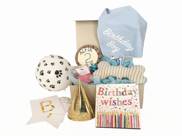 The Ultimate Personalised Dog Birthday Gift Box