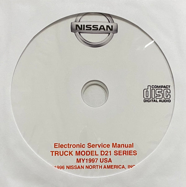 1997 Nissan Truck Model D21 Series USA Workshop Manual