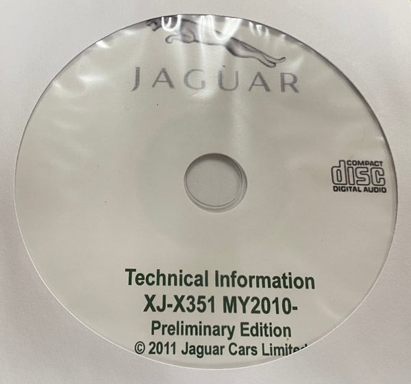 2010 Jaguar XJ-X351 Electrical Wiring Diagrams