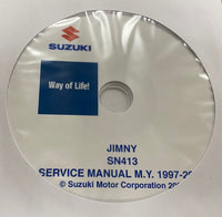 1997-2004 Suzuki Jimny Service Manual