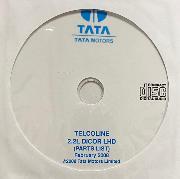 2007-2010 Tata Telcoline 2.2L DICOR LHD Parts Catalog