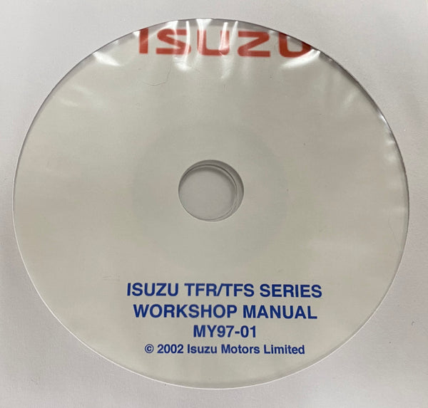 1997-2001 Isuzu TFR/TFS Workshop Manual