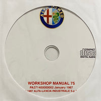 1985-1992 Alfa-Romeo 75 Workshop Manual