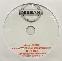 2007-2013 Nissan X-Trail Model T31 Workshop Manual