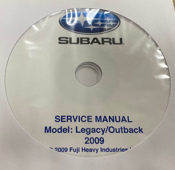 2009 Subaru Legacy and Outback Workshop Manual