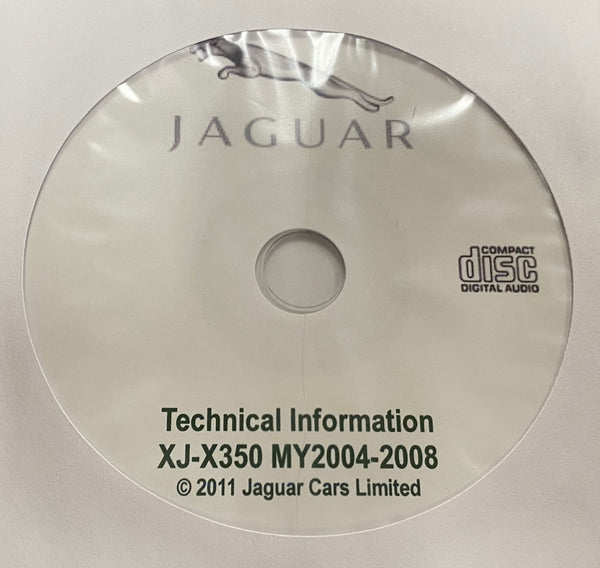 2004-2008 Jaguar XJ-X350 Workshop Manual