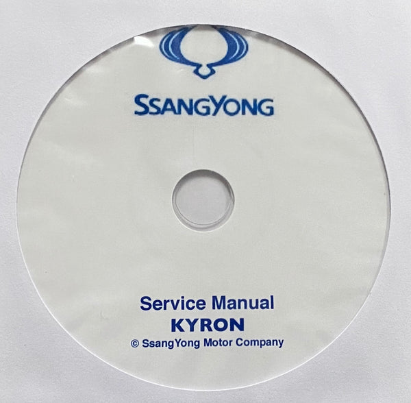 2005-2014 SsangYong Kyron Workshop Manual