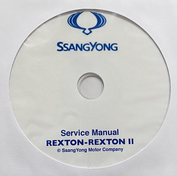 2001-2012 SsangYong Rexton-Rexton II Workshop Manual
