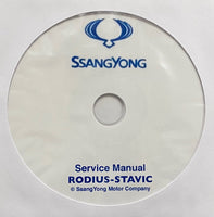 2004-2012 SsangYong Rodius-Stavic Workshop Manual