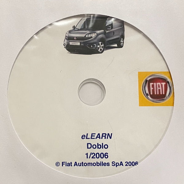 2000-2009 Fiat Doblo Workshop Manual