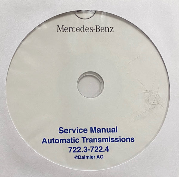 1979-1996 Mercedes-Benz Automatic Transmissions 722.3-722.4 Workshop Manual