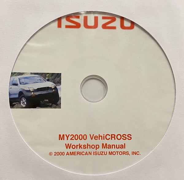 2000 Isuzu VehiCROSS Workshop Manual